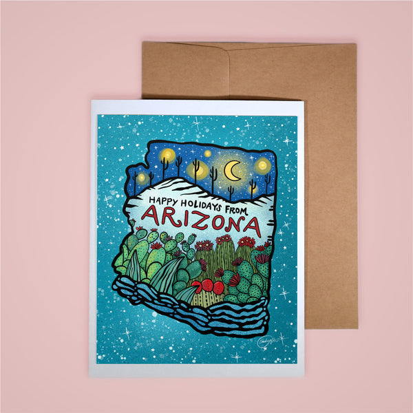 Holiday Card - Happy Holidays, AZ