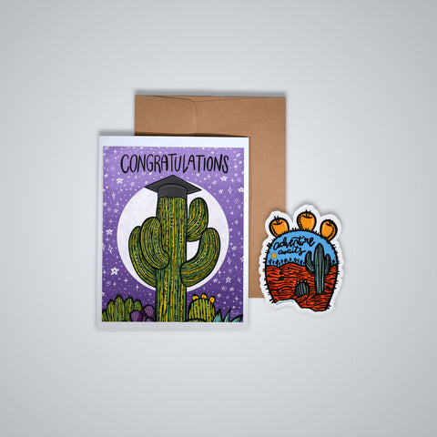 Happy Mail - Congratulations Saguaro
