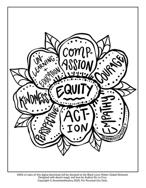 DONATION Printable - Equity Flower