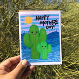 Card - Mothers Day Cactus Son
