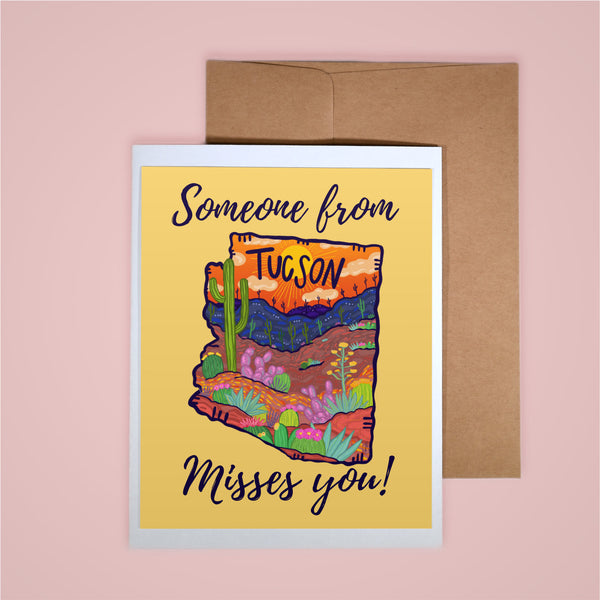 Card - Someone From Tucson Misses You