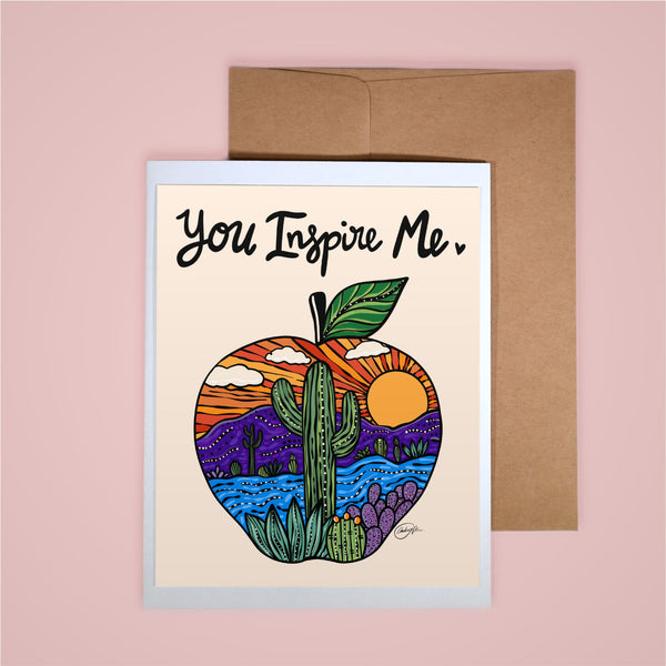 Card - You Inspire Me