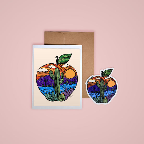 Happy Mail - Apple Sunset