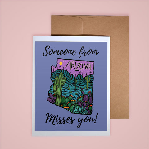Card - Someone From AZ Misses You