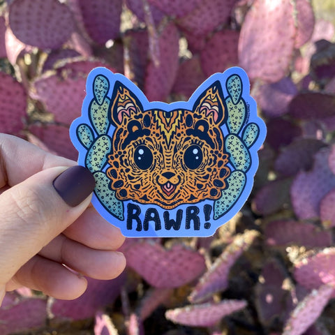 Sticker - Rawr (Online Exclusive)