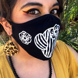 Face Mask - Cute Saguaro