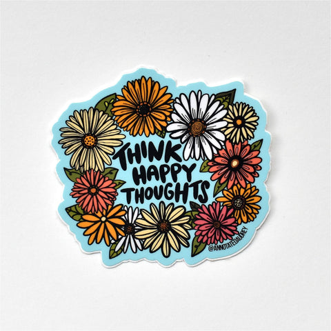 Sticker on white background