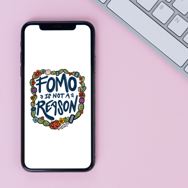 FOMO Phone Wallpaper (Digital Download)