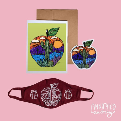 Teacher Mask Gift Bundle