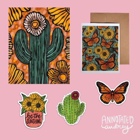 Blooming Desert Gift Bundle