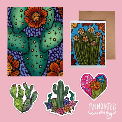Cactus Love Gift Bundle