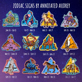 Zodiac sticker chart by birthday