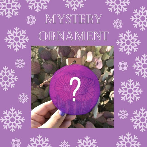 Mystery Ornament - Desert Bloom