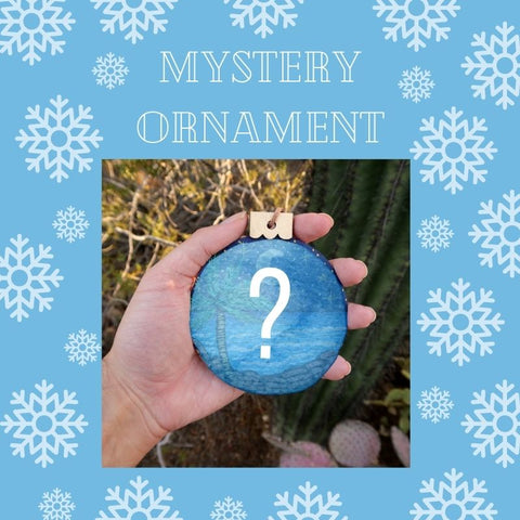 Mystery Ornament - Beach Scene