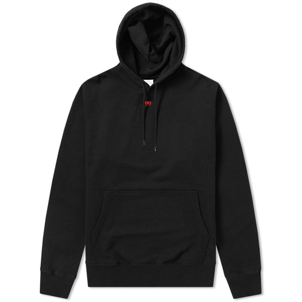 99 Small Logo Hoodie Black/Red