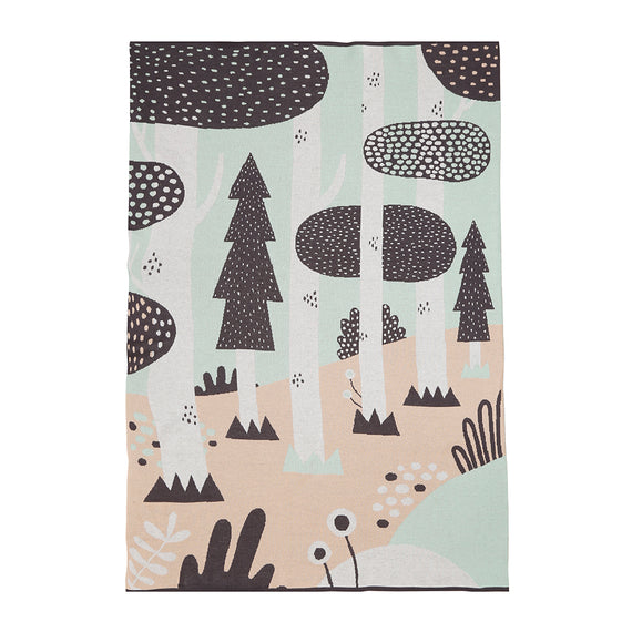 Michelle Carlslund x Södahl Plaid Magic Forest Pastel