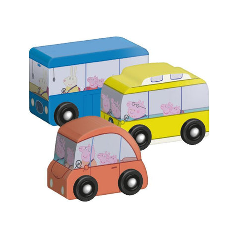 Peppa Pig - Miss Rabbit School Bus Play Set