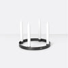 Ferm Living - Lysestage - Candle Holder Circle Sort