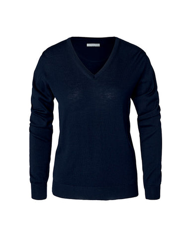 Berkeley - Wilton Wool Damestrik - V-neck
