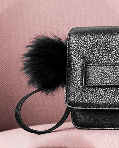 OH! By Kopenhagen Fur - Clutch i skind