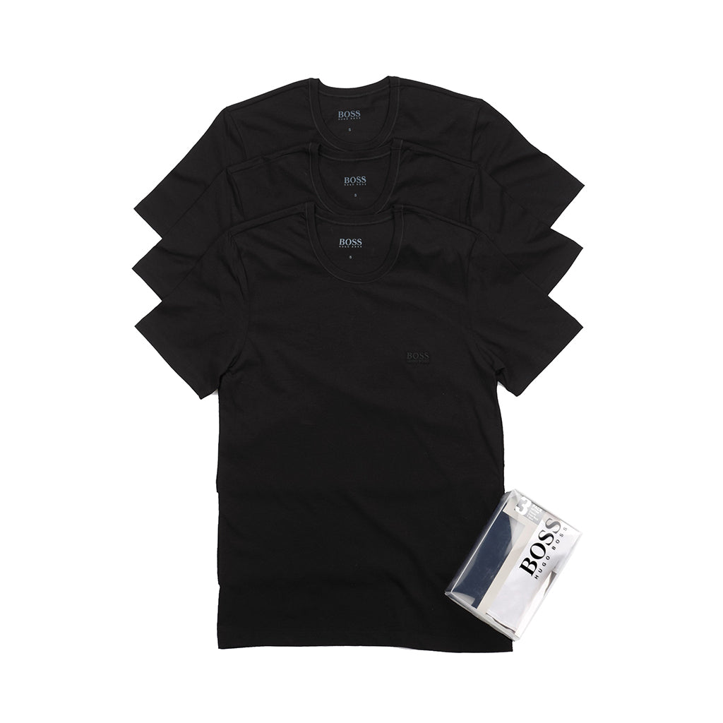 Hugo Boss T-shirts 3-pak rund hals sort