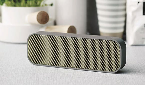 Kreafunk - Bluetooth Højtaler - aGroove Speaker Cool Grey