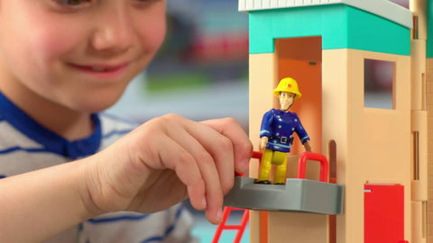 Fireman Sam - Legetøj - Pontypandy Firestation