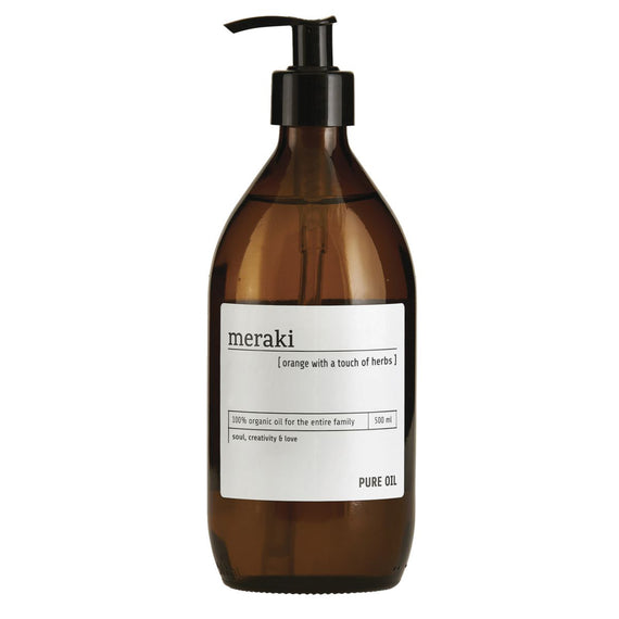 Meraki Håndssæbe - Pure oil 500 ml.