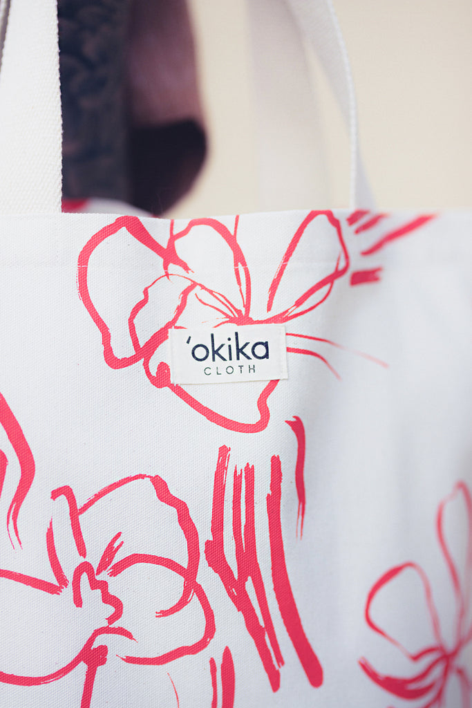 Conical Tote - 'OKIKA CLOTH