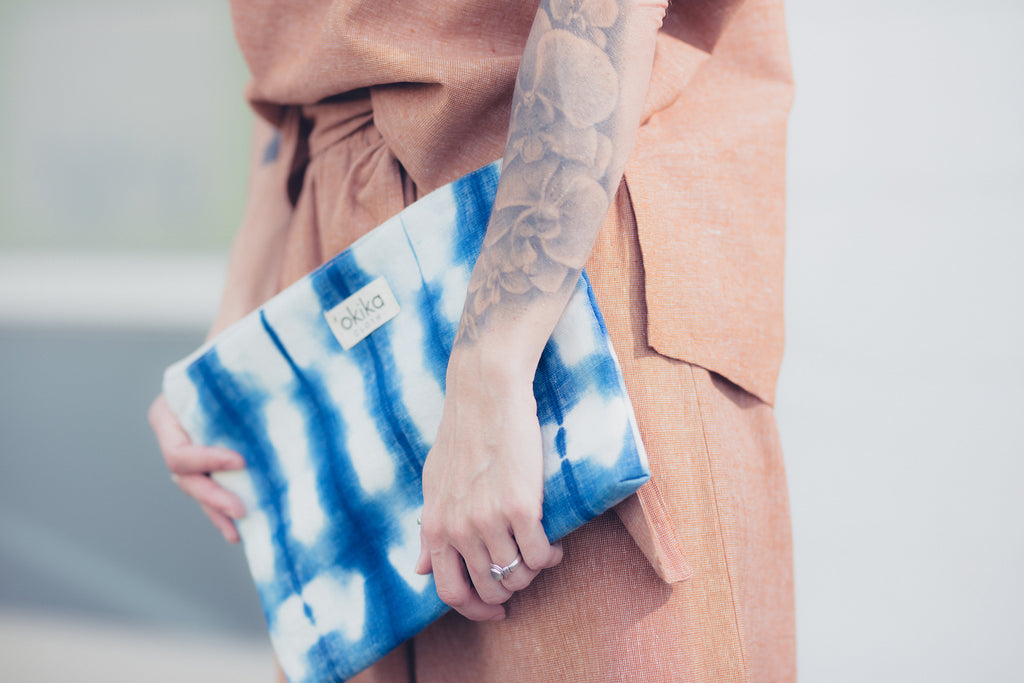 Zip Pouch - 'OKIKA CLOTH