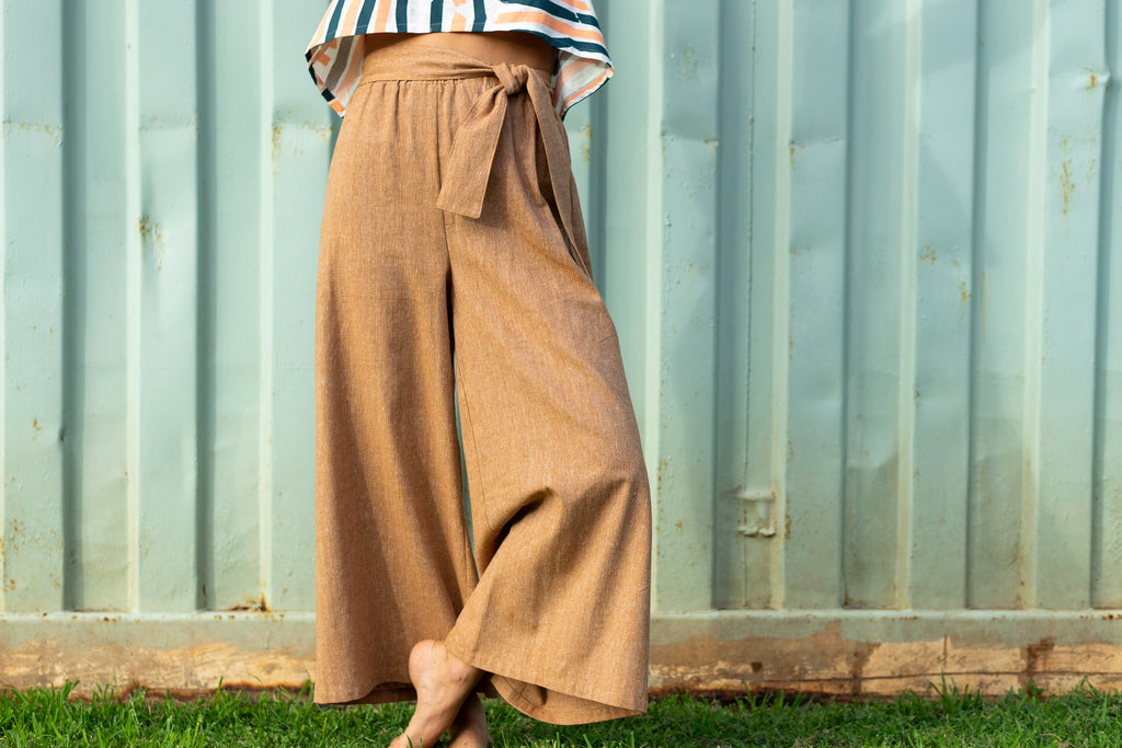 Tie Trouser - 'Okika Cloth