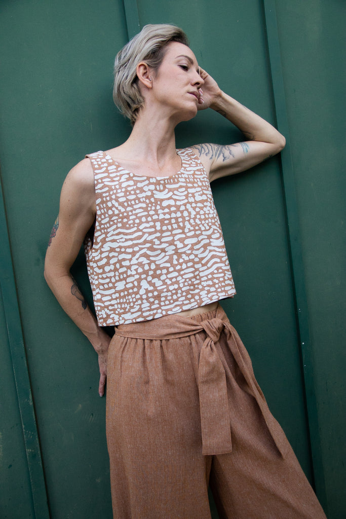 Crop Tank - 'Okika Cloth