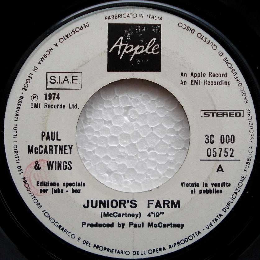 Beatles (Wings) - Junior's Farm