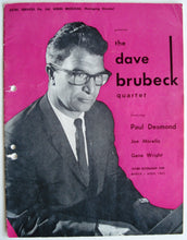 Load image into Gallery viewer, Dave Brubeck (Quartet) - 1962