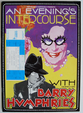 Barry Humphries - An Evening's Intercourse