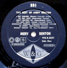 Load image into Gallery viewer, The Best Of Merv Benton