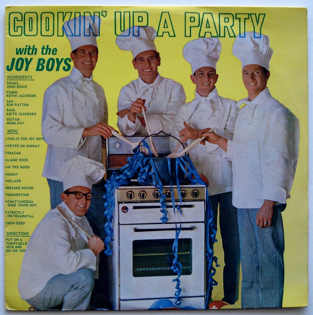 Joy Boys - Cookin' Up A Party With The Joy Boys