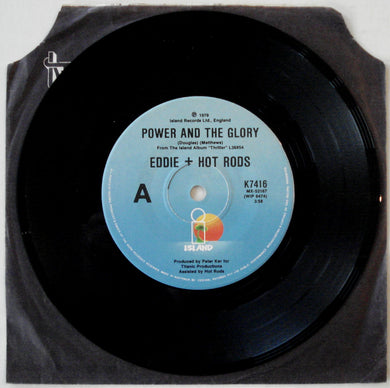 Eddie And The Hot Rods - Power And The Glory