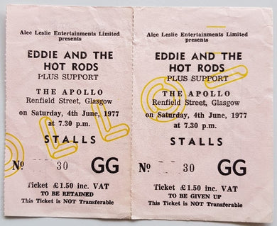 Eddie And The Hot Rods - 1977