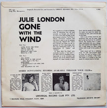 Load image into Gallery viewer, Julie London - Gone With The Wind