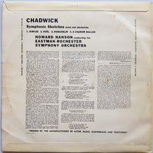 Load image into Gallery viewer, Chadwick - Symphonic Sketches - Suite For Orchestra