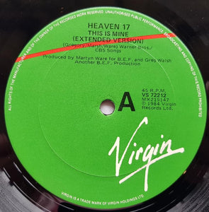 Heaven 17 - This Is Mine (Extended Version)