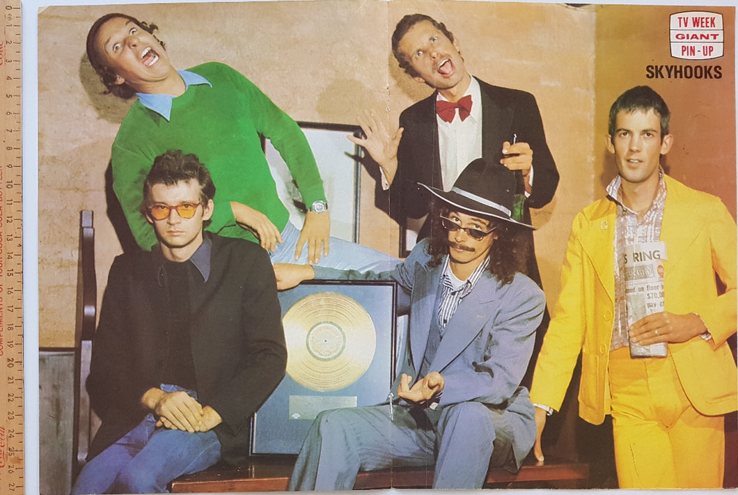 Skyhooks - TV Week Giant Pin-Up