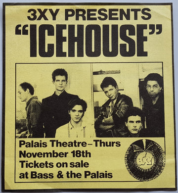 Icehouse - 3XY Music Survey Chart