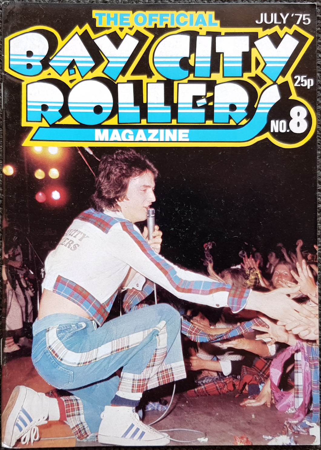 Bay City Rollers - The Official Bay City Rollers Magazine No.8