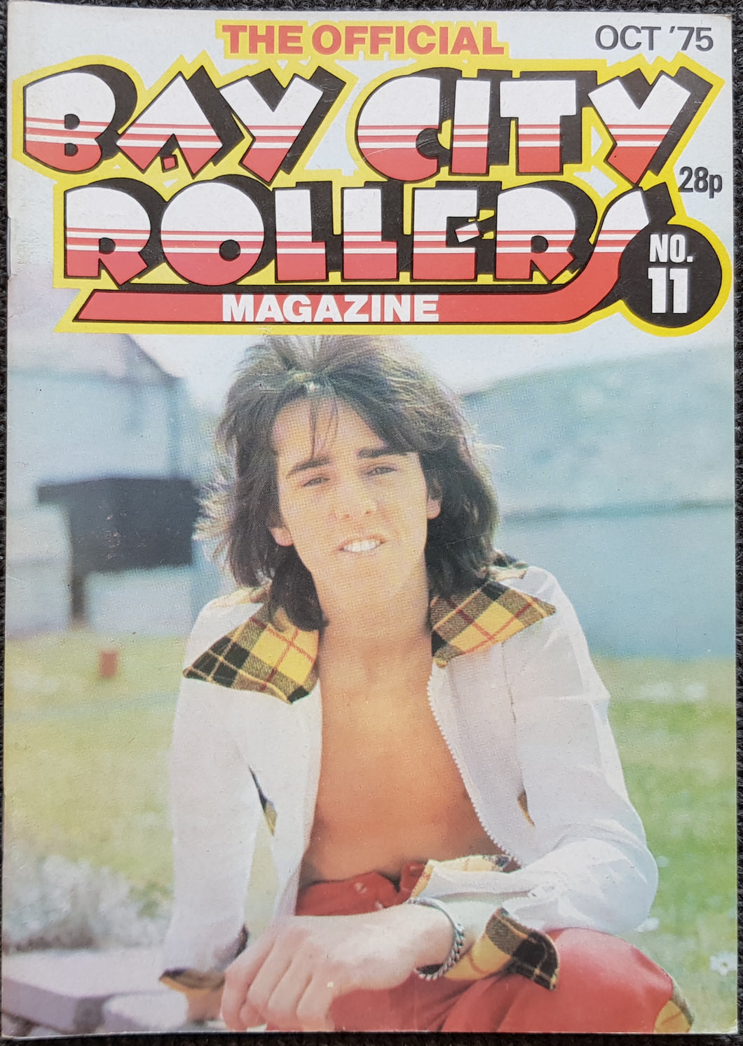 Bay City Rollers - The Official Bay City Rollers Magazine No.11