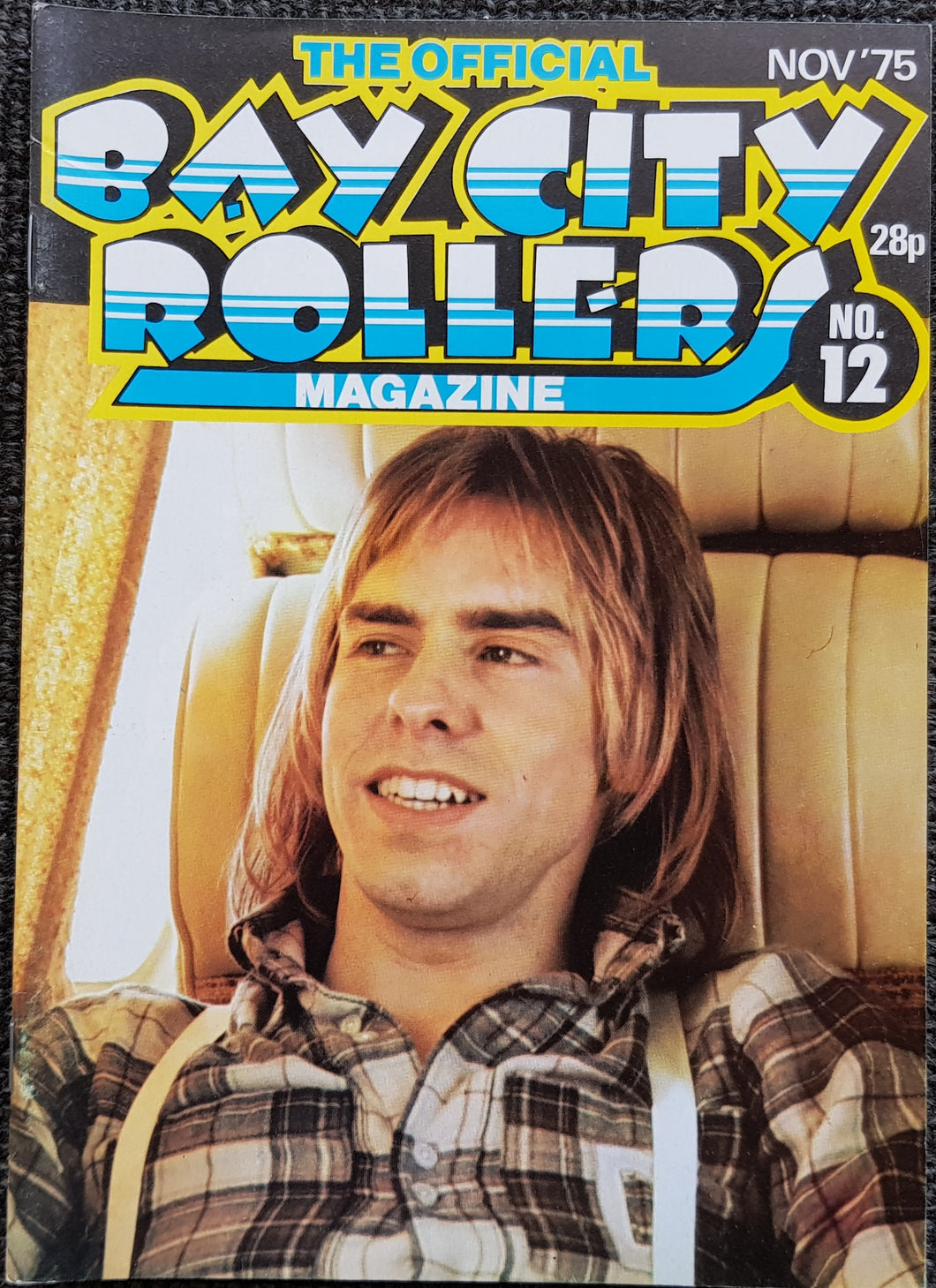 Bay City Rollers - The Official Bay City Rollers Magazine No.12