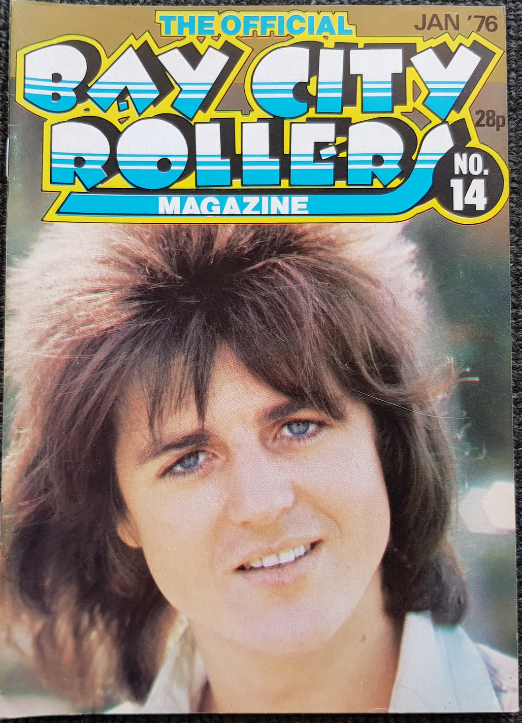Bay City Rollers - The Official Bay City Rollers Magazine No.14