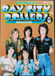 Bay City Rollers - The Official Bay City Rollers Magazine No.16