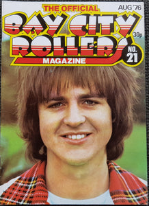 Bay City Rollers - The Official Bay City Rollers Magazine No.21
